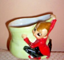 Vintage Pottery Ceramic  Elf Planter by ACME CHINA~ Made In Japan