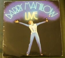 Barry Minilow Live Gate hinge double album AL8500