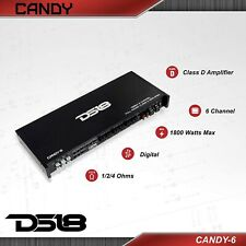 New listing Ds18 Candy-6 6 Channel Car Stereo Sub Amplifier 1800 Watt Amp. Brand New
