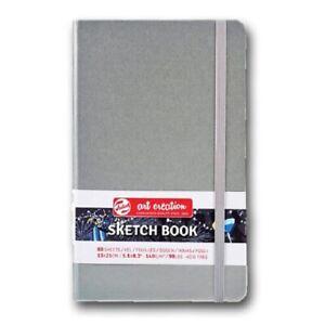 ROYAL TALENS© ART CREATION - ARTIST SKETCHBOOK 13 x 21cm - SILVER HARD COVER