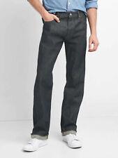 GAP Japanese Kaihara Raw Selvedge Denim Men's Standard Straight Jeans NEW 34x34