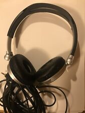 Sony Dynamic Stereo Headphones MDR-V300 Silver Wired Corded Great Sound