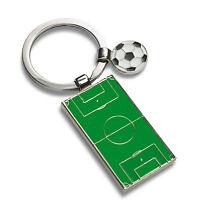 Schlüsselanhänger FUSSBALLFELD mit Ihrer Wunschgravur - SA060