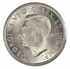 1939 Canada $1 Silver Dollar - ICCS MS-64