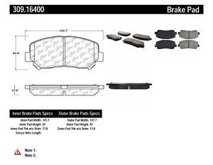 StopTech For Chrysler, Dodge Dart Disc Brake Pad Set Front Centric - 309.16400