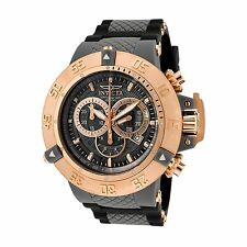 New Mens Invicta 0932 Subaqua Anatomic Chronograph Watch