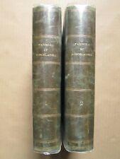 DEMMIN : GUIDE DE L'AMATEUR DE FAÏENCES ET PORCELAINES, 1867. 2 vol. complet