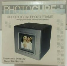 Digital Photo Frame Holds Over 50 photos Photo Cube From Macy's 2007 NEW