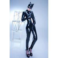 Patrice Catanzaro - Sweety - 15% en moins Catsuit sexy avec zip en vinyle noir