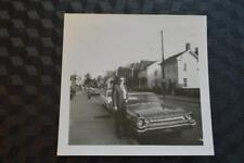Vintage Car Photo Man w/ 1963 Dodge Polara 861