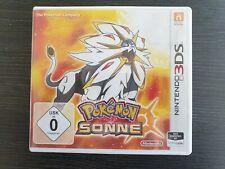 Pokemon Sonne, Nintendo 3DS Spiel, guter Zustand, Dsi, Dsxl, 3Ds, 3Dsxl