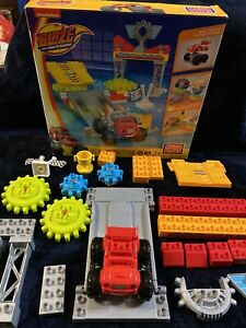 2015 Mega Bloks Monster Machines Blaze Axle City Garage Building Incomplete