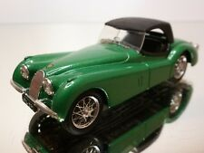 BRUMM JAGUAR XK120 1948 - GREEN METALLIC 1:43 - EXCELLENT - 4+5