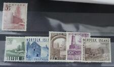 * 1953 Norfolk Island SG13-18 Set to 5s Bloody Bridge Fine MINT Cat £38