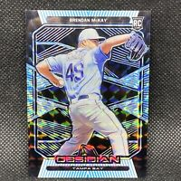 1/1! 🚨2020 Obsidian Brendan McKay RC Tampa Bay Rays Rookie #4 True One Of One