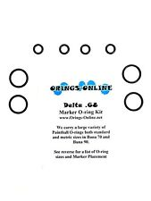 Delta 68 Paintball Marker O-ring Oring Kit x 4 rebuilds / kits