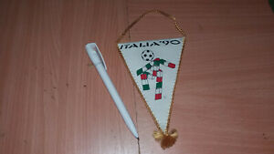 YUGOSLAVIA WC ITALY 90 FOOTBALL PENNANT FLAG FSJ