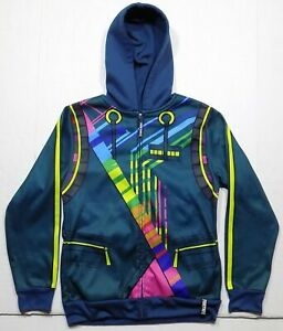 Fortnite Unisex Hoodie Jacket with Zip Up Face Mask DJ Yonder NWT YOUTH