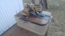 Reece Pocket Welt Or Buttonhole Industrial Sewing Machine Withtable Amp Motor Denim