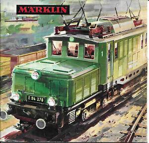 CATALOGO TRENINI ELETTRICI MARKLIN 1964-1965. ILLUSTRATO. BELLISSIMO