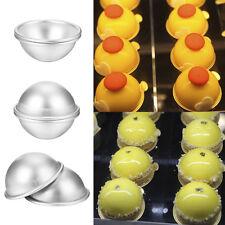3D Aluminum Ball Sphere Bath Bomb Mold Cake Pan Tin Baking Pastry Mould 7CM * 2