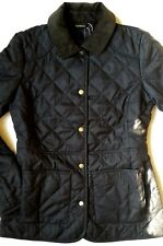 Barbour Helvellyn Women's Quilted Jacket - Olive Herringbone/ Classic