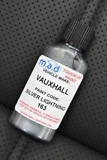 VAUXHALL SILVER LIGHTNING 163 PAINT TOUCH UP KIT 30ML SCRATCH CHIP VECTRA CORSA