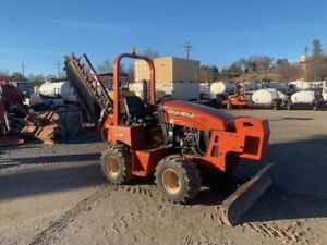 2011 DITCH WITCH RT45 TW/H314 TRENCHER (704 ORIG HOURS) FRESH -PAINT WORK READY!