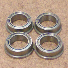 1/4 inch bore.4 Radial Ball Bearing.FLANGED.(1/4 X 3/8 X 1/8). Lowest Friction