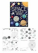 P6  X  A6 SPACE Puzzle Activity Colouring books Kids Party Loot Bag children.