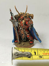Chaosgeneral Kranon - Kunststoffmodell - sehr gut bemalt - Chaos Space Marines
