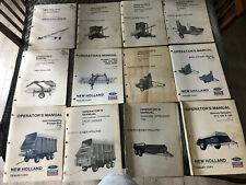 New Holland Manure Spreaders Wagons Blowers Conveyors Operator Manual Lot