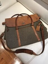 Vintage HARTMANN Tweede Shoulder Bag Tote Carry On Luggage