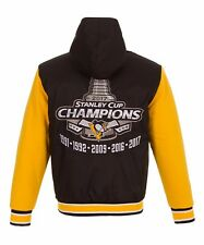 Pittsburgh Penguins JH Design 5 Time Stanley Cup Champions Reversible  Jacket