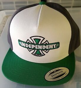 INDEPENDENT TRUCKS - Snapback Cap - Vintage BC - GBW - Skateboard Hat, Skate Cap