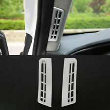 For Hyundai Santa Fe 2019 Matte Front A Pillar Air Vent Outlet Cover Trim 2pcs