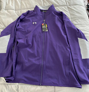 Under Armour Storm Vented Zip Up Warm-Up Men's Jacket Purple Size 3XL NWT