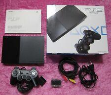 Sony PlayStation 2 PS2 Spiele Konsole schwarz, original Controller, OVP