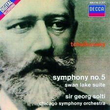 GEORG/CSO SOLTI - SINFONIE 5/SCHWANENSEE-SUITE  CD NEU TSCHAIKOWSKY