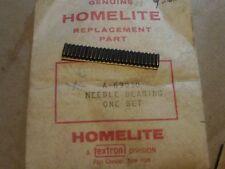 NOS Homelite # 69050 NEEDLE BEARING 1 SET  VINTAGE CHAINSAW 103