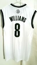 Adidas NBA Jersey Nets Deron Williams White sz S