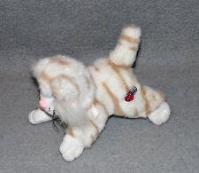 Miauzi 17cm Schildkröt 80er 90er Jahre Plüsch Stofftier Kuscheltier Katze Wauzi