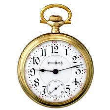| 24 Ruby Jewel 18 Size Illinois Bun Special Railroad Pocket Watch