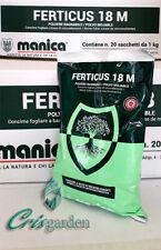 SOLFATO DI RAME - FERTICUS 18 M - CONCIME FOGLIARE - MANICA