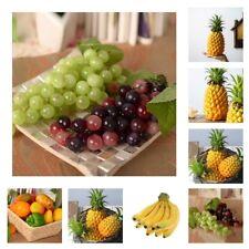 Lifelike Artificial Fake Fruits Food Plastic Foam Decorative Props DIY Craft