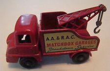 Matchbox 13 Thames Wreck Truck BPW  Gray Hook 1961
