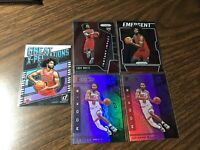 Coby White 2019-20 Panini 9 Card Rookie RC Lot Chicago Bulls Donruss Prizm etc.