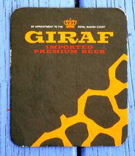 Sous-bock bière Giraf, Danemark