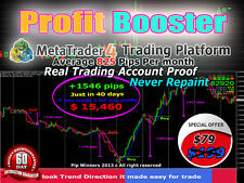 """Forex Trading System Best mt4 trend Strategy Forex Indicator """"""""PROFIT BOOSTER"""""""""""