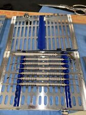Hu Friedy Dental Restoration Ims Signature Series Cassette With 7 Instruments Blue